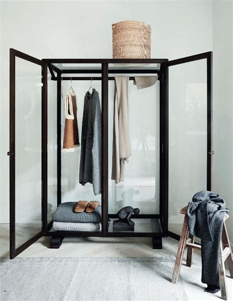 Glass Fronted Wardrobes - the new transparency 7 glass fronted closets and