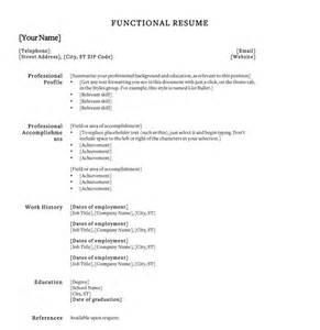 Resume Bullet Point Style Bullet Style Resume