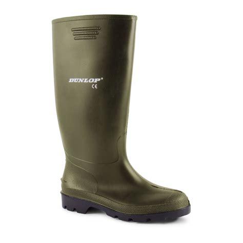 dunlop mens wellington boots mens dunlop waterproof walking wellies