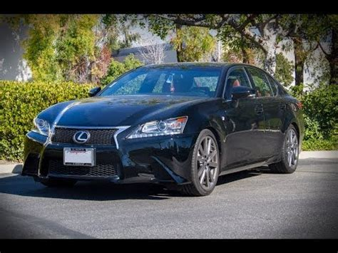 lexus gs350 f sport lowered 2014 lexus gs350 f sport lowered with tanabe springs