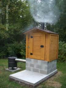 backyard smokers smokehouse building plans find house plans c