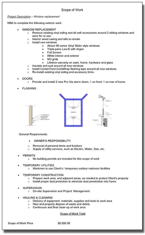 renovation scope of work template pin by mosby building arts on remodeling tips