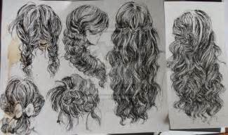 pencil drawing of hair styles of hairstyles by telemaniakk on deviantart