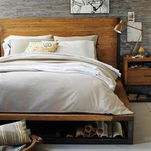 West Elm Wood Bed Frame Copenhagen Bed Frame West Elm
