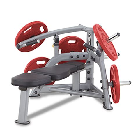 plate loaded bench press fmi steelflex plate loaded bench press commercial grade