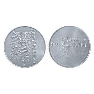 200 kč 1993 proof 1. výročí schválení Ústavy České republiky