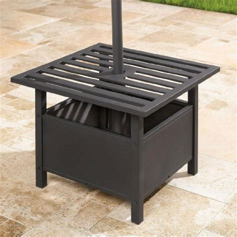 Patio Umbrella Stand Side Table by Furniture Gt Outdoor Furniture Gt Umbrella Gt Umbrella