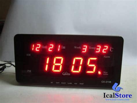Jam Dinding Digital Caixing Cx 2159 jam dinding digital led tipe 2158 merah ical store ical store