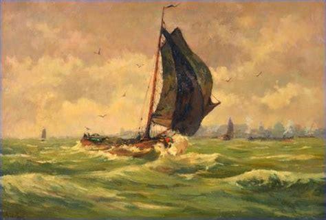 met een platbodem op zee de maarschalk platbodem van hobbe smith