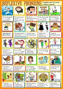 reflexive pronouns practice interactive worksheet
