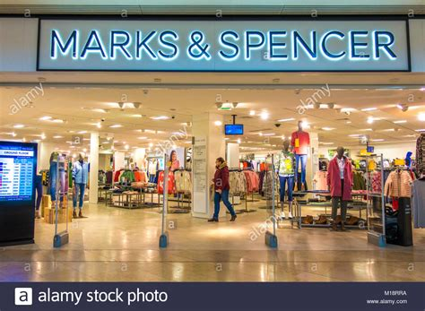 marks and spencer bureau uk shop marks spencer in stock photos uk shop marks