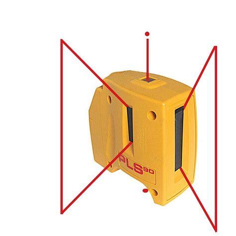 laser level layout tool pls 90 degree self leveling layout laser pls 90 pls 60512