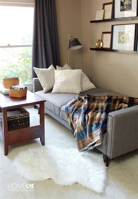 futon guest room a guest ready living space home made by carmona