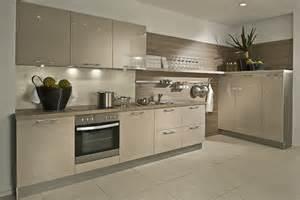 Cashmere laminate kitchens from lwk kitchens