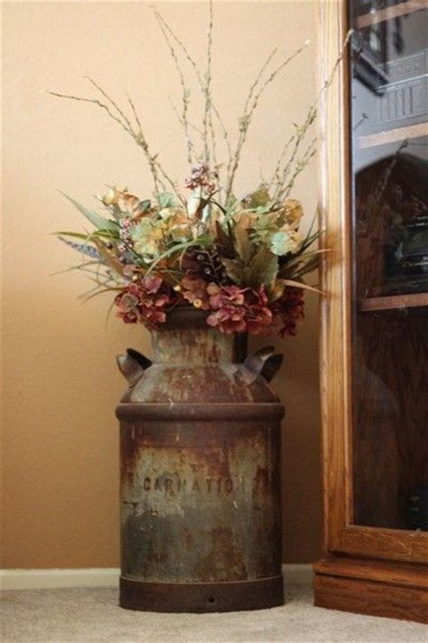 Kitchen Canister by Decorating With Old Milk Cans Wedding Ideas Juxtapost