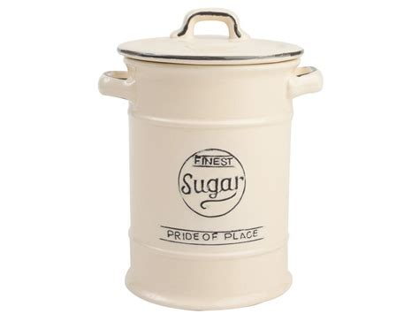 Jar Vintage Sugar t g pride of place sugar jar ceramic sugar jar