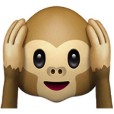 hear no evil monkey emoji (u+1f649)