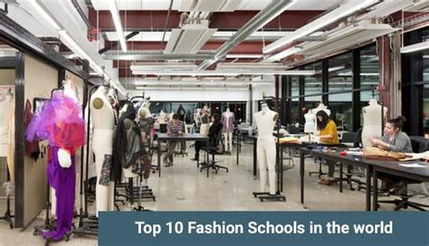 best fashion design school top 10 fashion schools in the world check the list here
