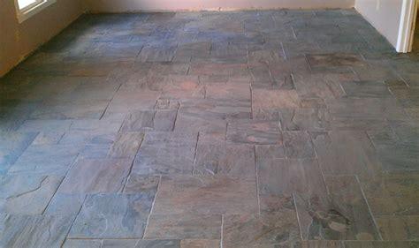 floor versailles pattern gauged rustic gold slate