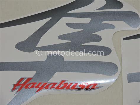 Suzuki Decal Kit Suzuki Gsx 1300r Hayabusa 2006 Black Decal Kit By