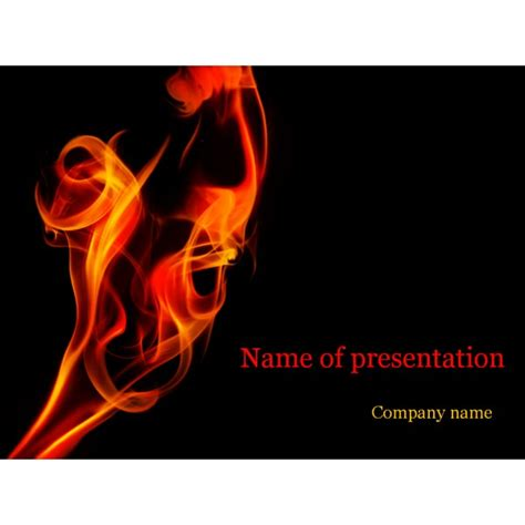 powerpoint themes free download fire flame powerpoint template background for presentation