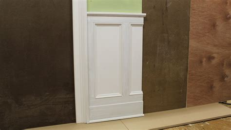 tips  designing installing chair rail wainscoting