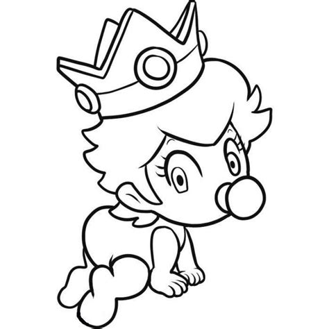 baby luigi coloring page baby peach coloring pages coloring home