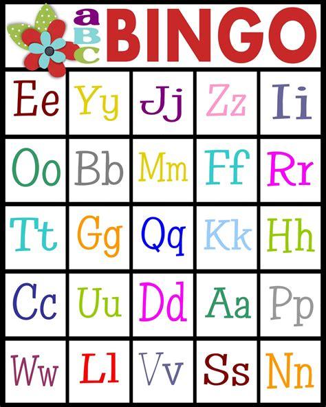 Preschool Bingo Card Template by Preschool 4peatssake