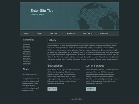 simple html template html templates
