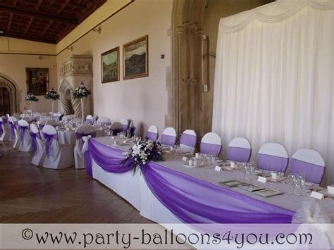Top Table Decoration Ideas Wedding Balloons Fresh Silk Flowers Pew End Bows Chair Cover Hire My