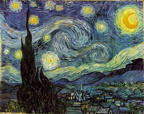van gogh vincent the starry night