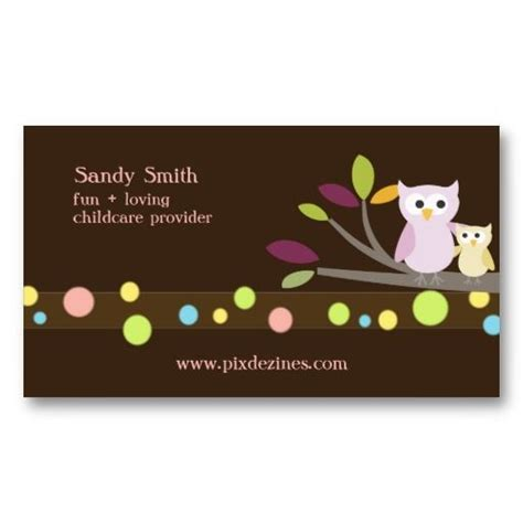 Daycare Business Cards Templates by 17 Best Images About Child Care Business Cards On