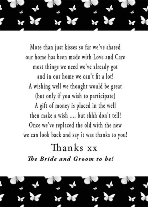wedding poems for money instead of gifts pin by stacey kerestman on planning ahead pre wedding
