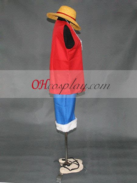 Luffy Sandal Spandex one ruffy set hat sandalen cosplaymade