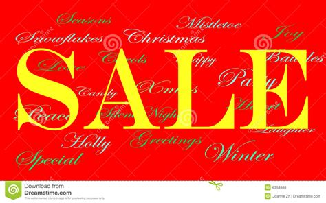 christmas sale banner ads stock illustration illustration