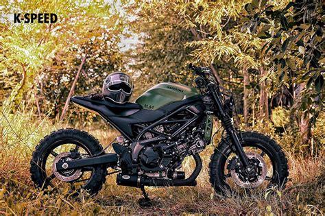 Suzuki Scrambler Motorcycle Suzuki Sv650 Scrambler M 44 By K Speed