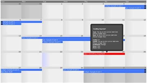 jquery html template exle 10 best jquery calendar plugins for developers code geekz