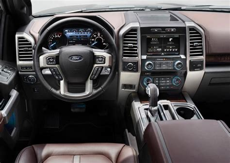 ford truck upholstery 2015 ford f 150 top 10 innovative features on ford s best