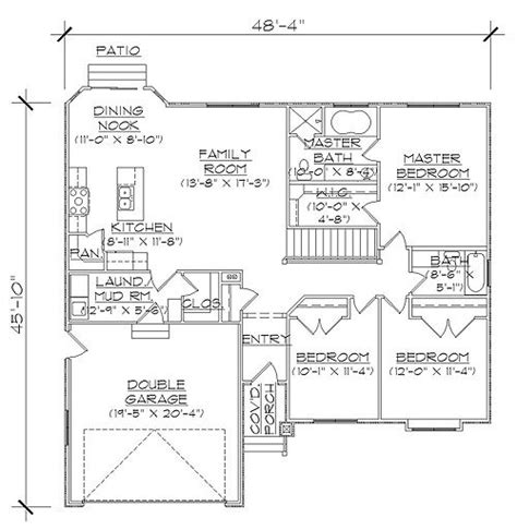 rambler house plans with basement 25 best ideas about rambler house plans on pinterest ranch floor plans 4 bedroom