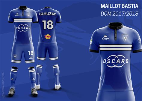 maillot ligue 1 20172018 on behance