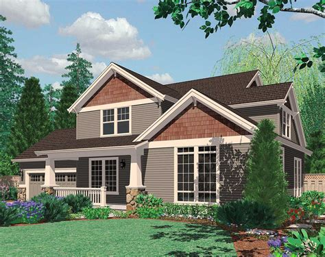 nw home plans great family craftsman home plan 69045am 2nd floor