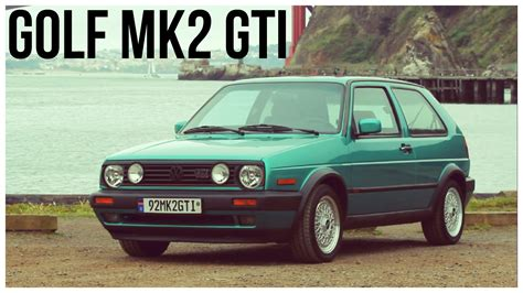 volkswagen golf 1985 1985 1992 volkswagen golf mk2 gti youtube