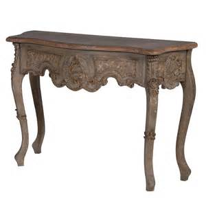 diana ornate french console table