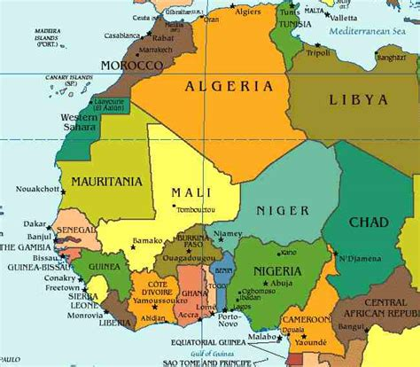west africa countries west africa