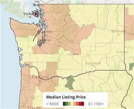 cheapest states to buy a house where are the cheapest places to live in washington state