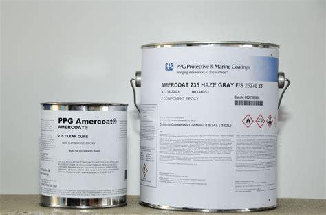 ppg 235 amercoat grey epoxy primer boat paint stuff martin