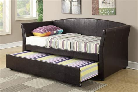 double bed with trundle twin bed with trundle f9221