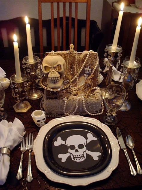 pirate themed table decorations diary lifestyles pirate palooza