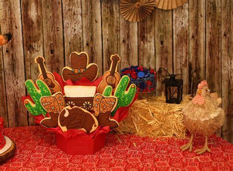 cowboy themed decorations kara s ideas cowboy themed birthday
