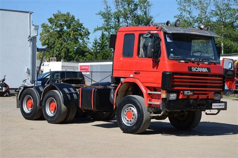 scania 113h 360 6x6 tractor unit from poland for sale at